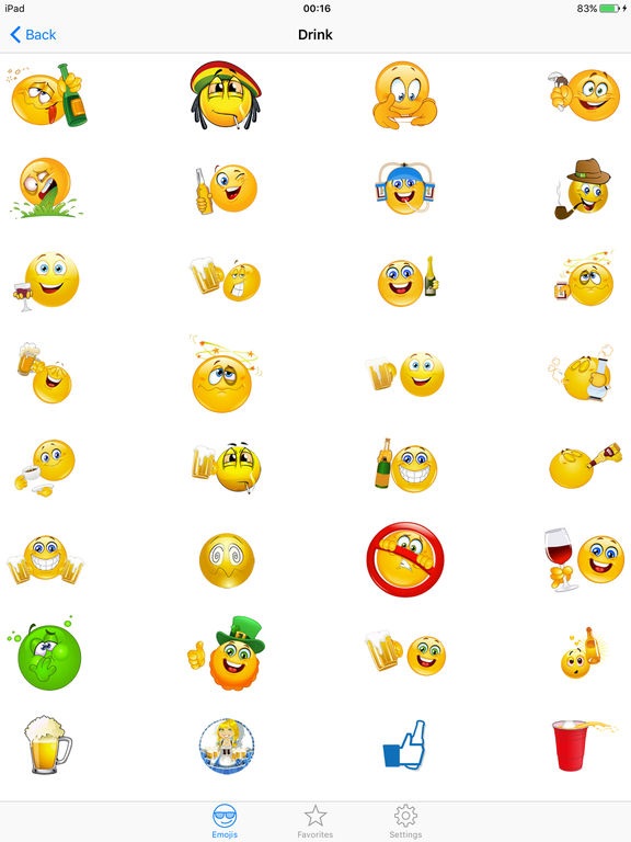 Free smiley faces for texting