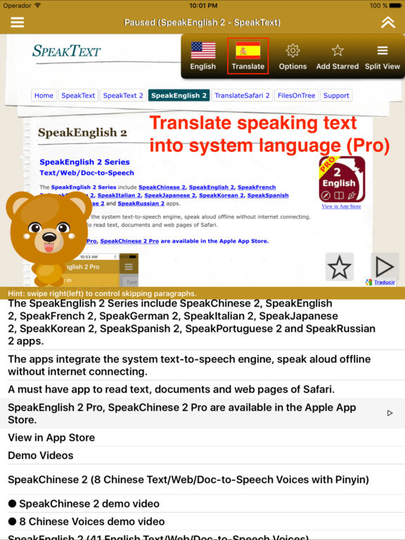 SpeakEnglish 2 (41 English TTS Voices) IPA Cracked for iOS