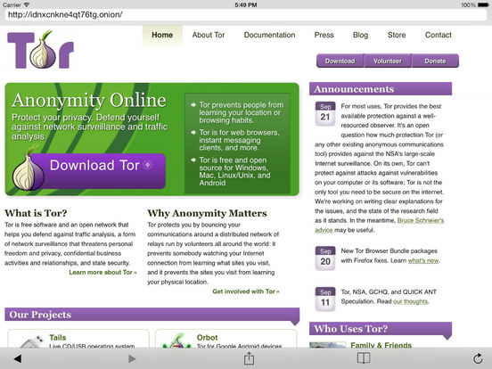 Onion Browser – Tor-powered web browser for anonymous browsing