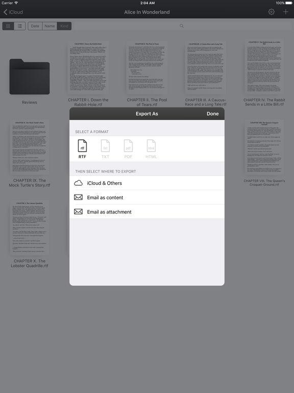 justwrite app store