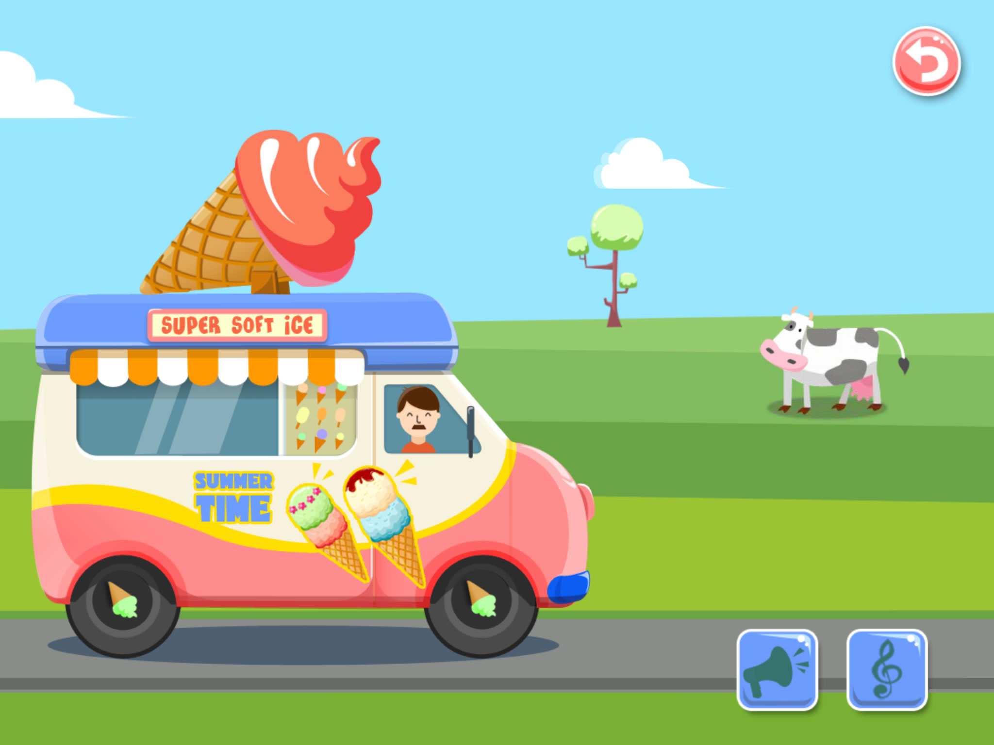 ... Ice Cream Truck - Game For Kids ...