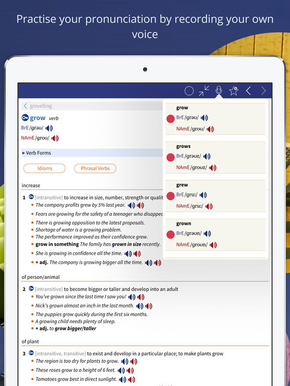 Oxford Advanced Learner's Dictionary IPA Cracked for iOS Free Download