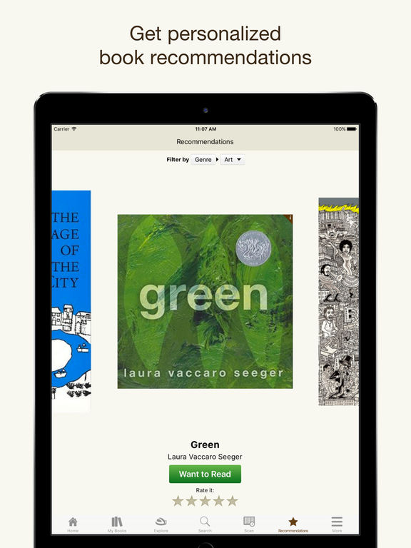 Goodreads – Book Recommendations and Reviews Screenshot