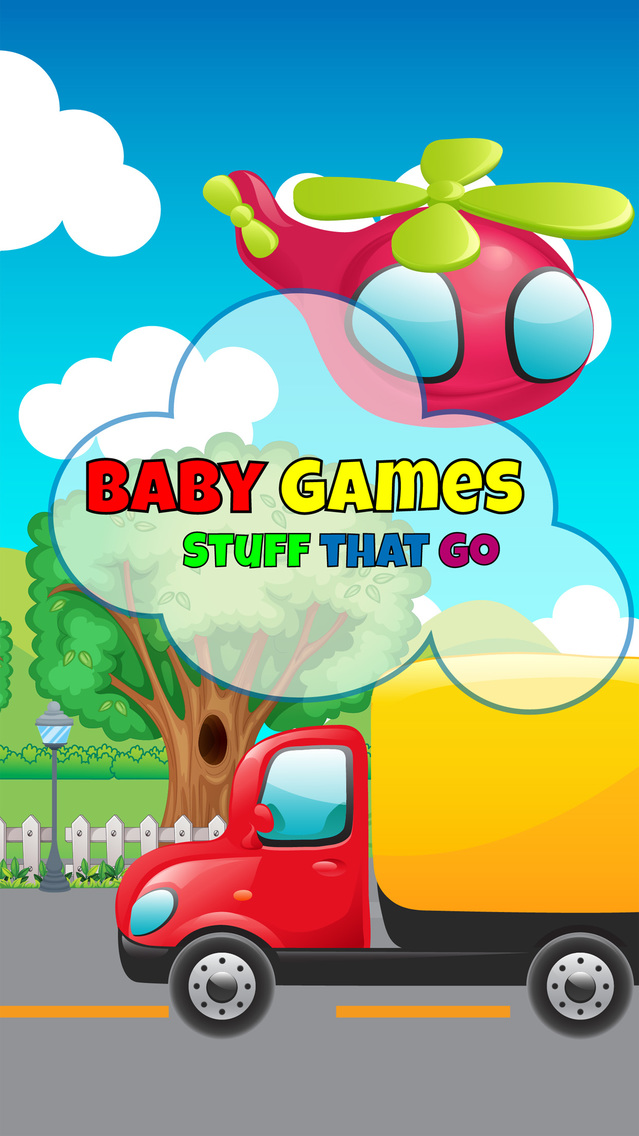 Baby Games Stuff That Go Screenshot on iOS