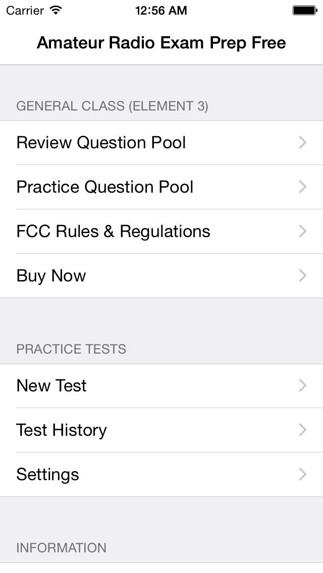 Amateur radio general class practice tests