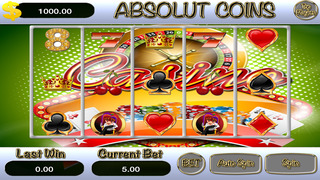 A AAbsolut Casino Coins HD Screenshot on iOS