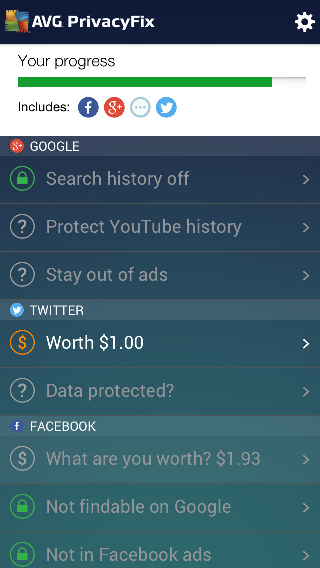 PrivacyFix for Social Networks