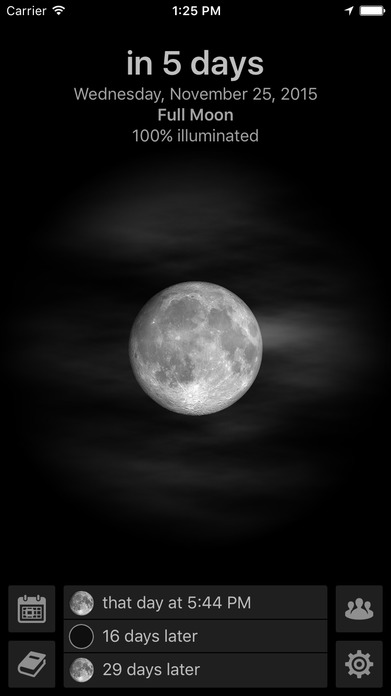 Mooncast - The Phases of the Moon Screenshot