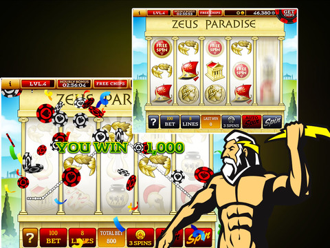 Slots Extravaganza Premium! -  29 Commerce Casino - Just like the real thing!-ipad-3