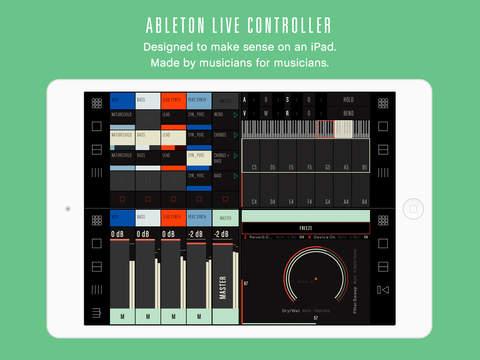 ableton live like app for ipad