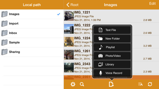 AirDisk Pro - Wireless Flash Drive Screenshot