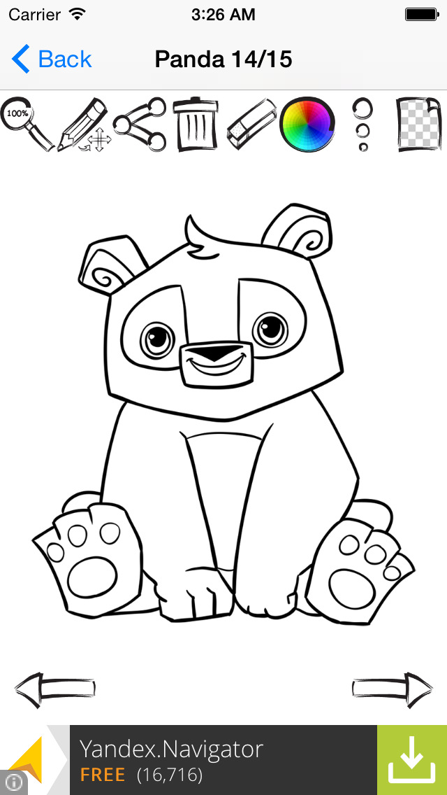 Kung Fu Panda 1 - Friv Free Coloring Pages For Children - Panda ... | 1136x640