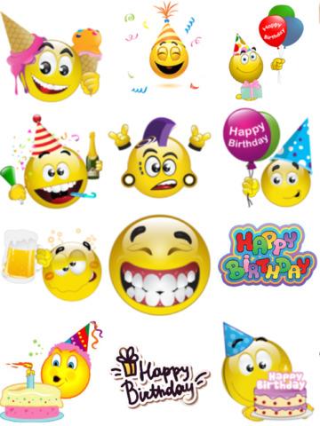 Happy Birthday Emojis On The App Store