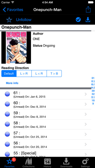 Manga Storm - The Ultimate Manga Reader Screenshot