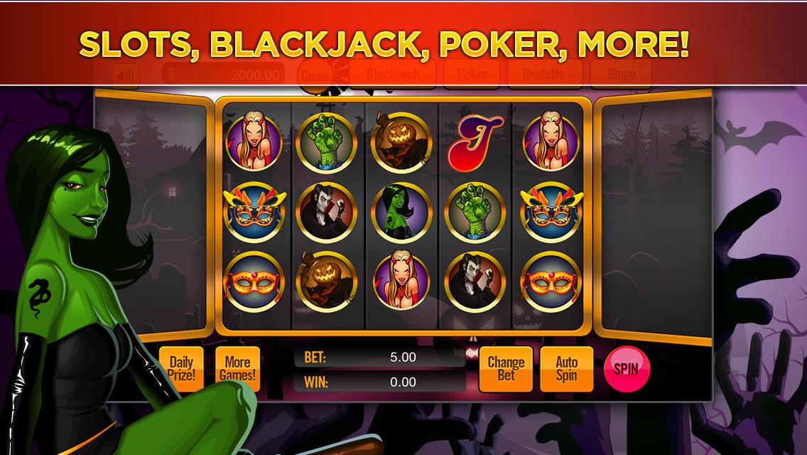Hot Hot Halloween Slot Machine