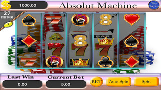A Absolut Machine Slots Screenshot on iOS