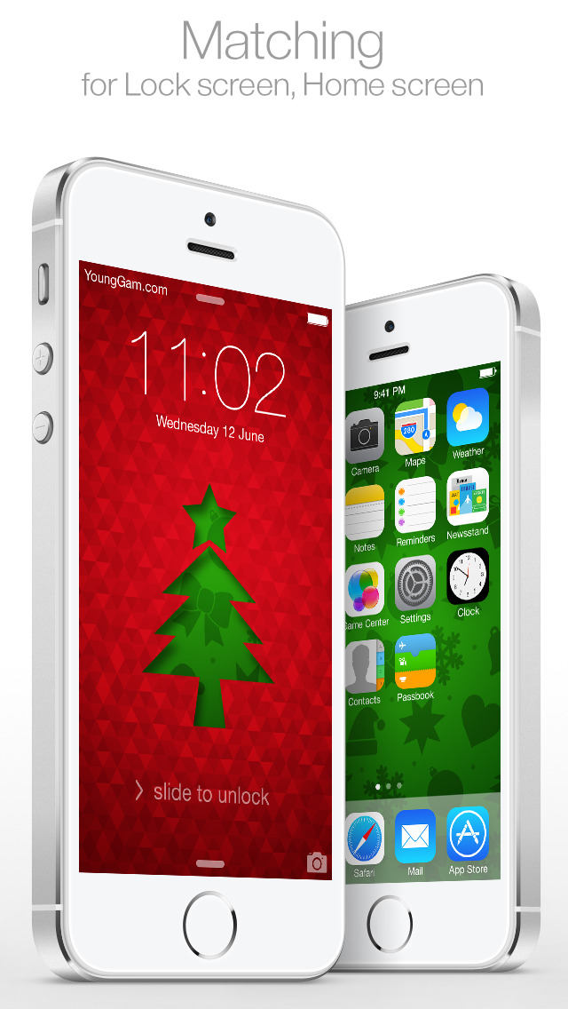 Christmas Themes For Lock Screen Home Screen New Wallpaper By