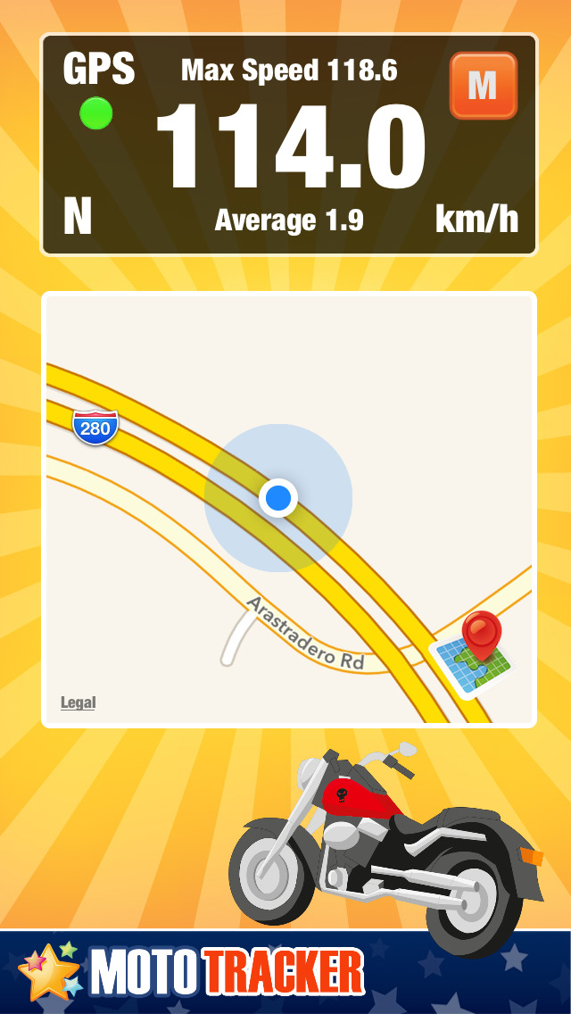 App Shopper: Motorcycle Ride Tracker - GPS Moto Navigation