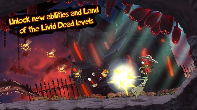 Rayman Jungle Run Screenshots