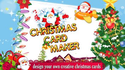 christmas card maker free 2015 screenshot on ios - Christmas Photo Card Maker
