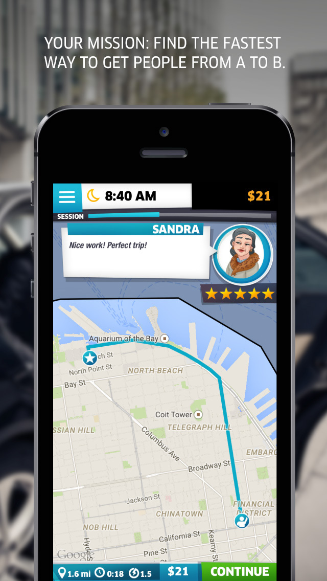 UberDRIVE: Test-Drive Your City Knowledge! [FREE]