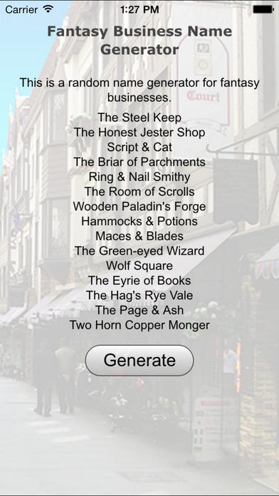 Fantasy Business Name Generator App Download - Android APK
