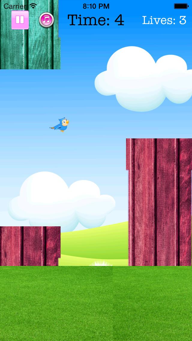 Fly Birdie - One touch branch jump screenshot-3