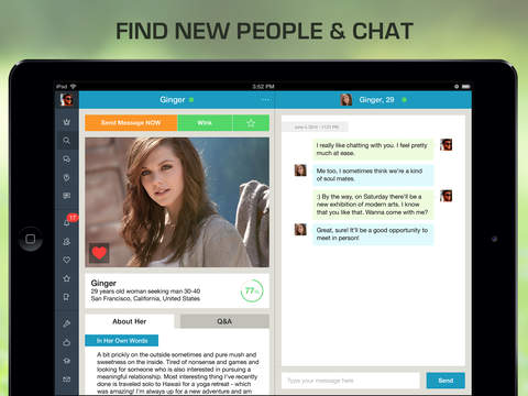 Chat with me dating