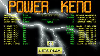 Power Keno Screenshot on iOS