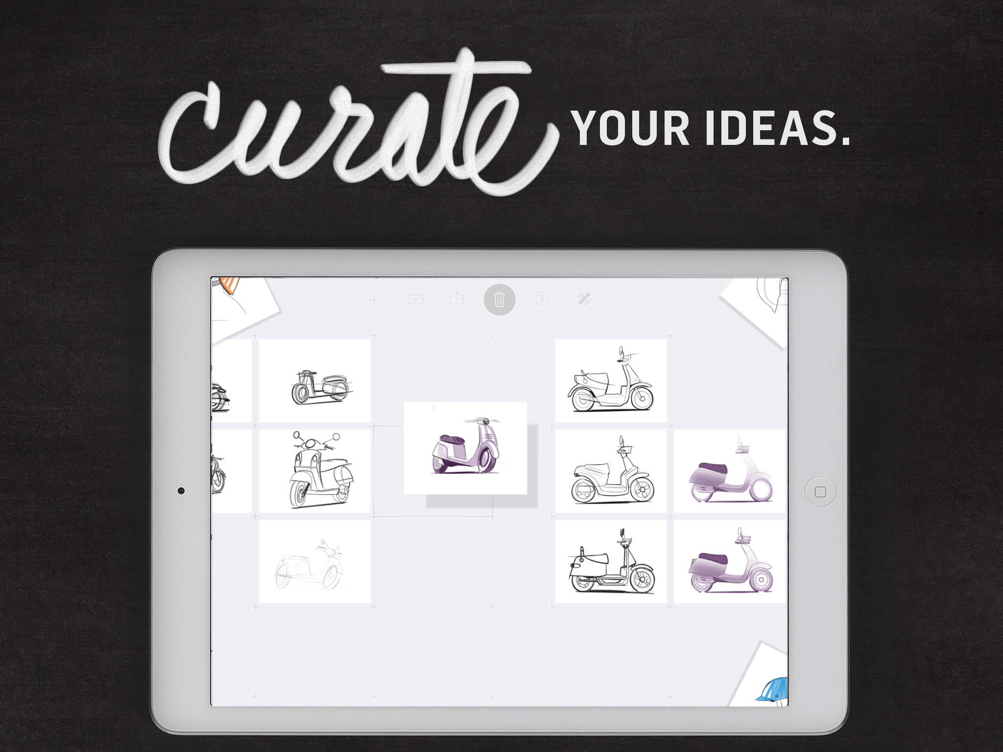 Forge - Build Your Ideas: Brainstorm. Sketch. Organize. screenshot-3