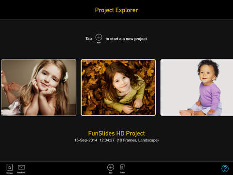 FunSlides HD - Make HD video from photos Screenshot