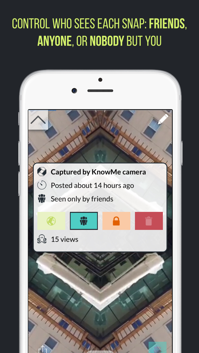 KnowMe - Video Snap Journal Screenshot on iOS