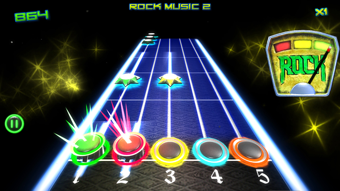 Rock vs Guitar Legends HD Screenshot