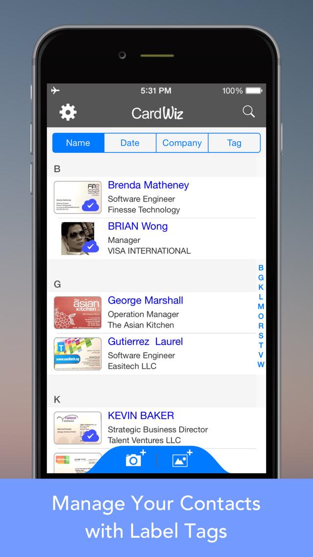 Cardwiz pro business card reader sync to salesforce google contacts cardwiz pro business card reader sync to salesforce google contacts screenshot on colourmoves