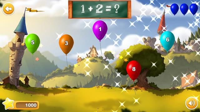 Tela do jogo 1der Math