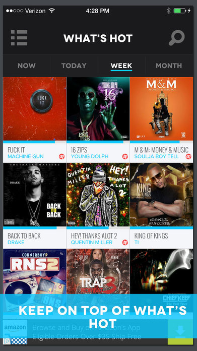 DatPiff - Free Mixtapes Screenshot