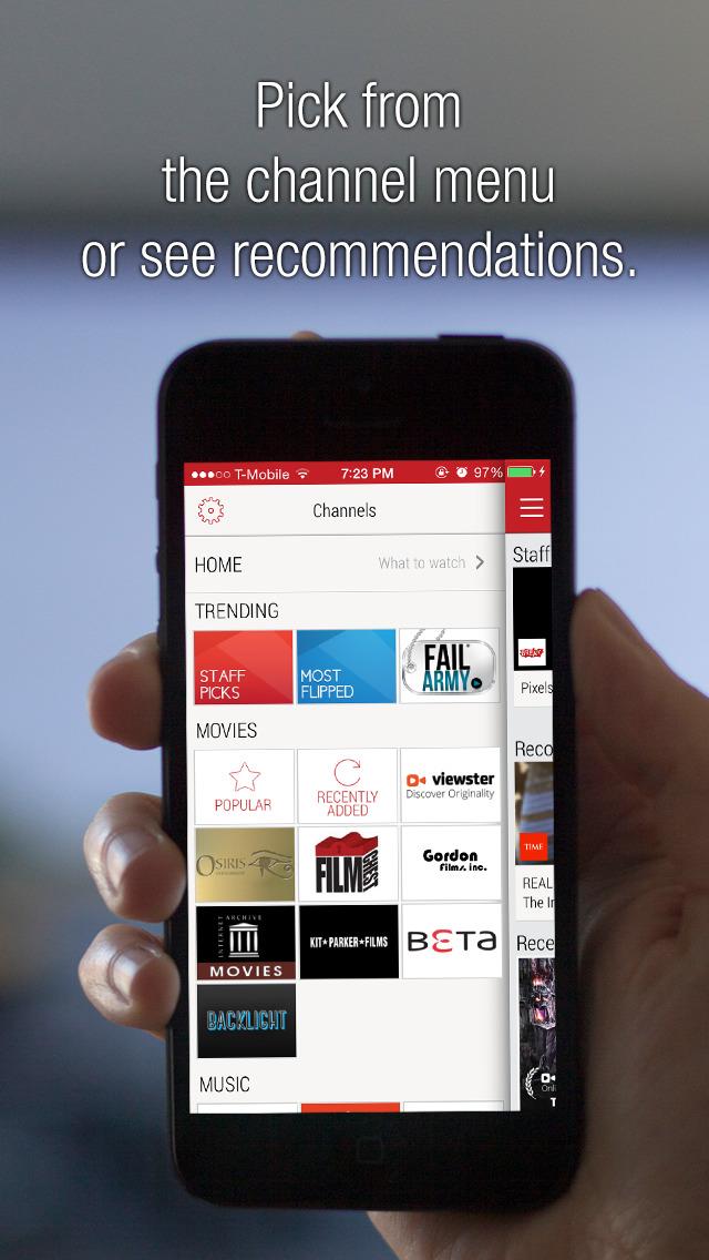 Flipps Lite - Watch Movies & Free Videos on TV
