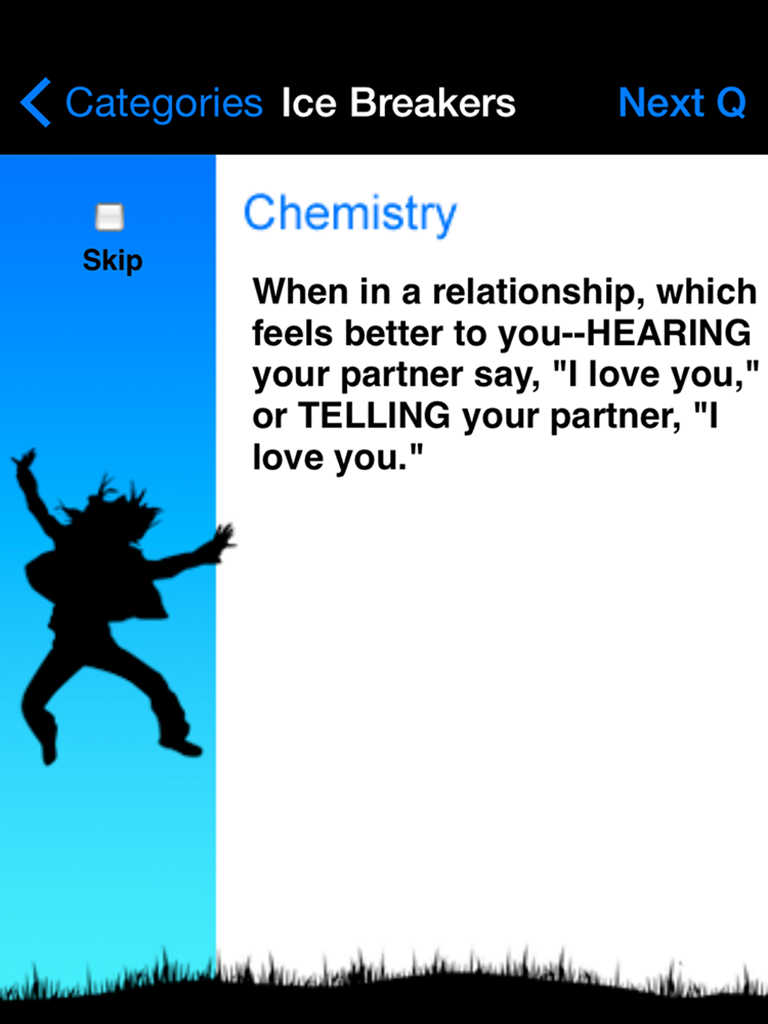 Break the ice dating app