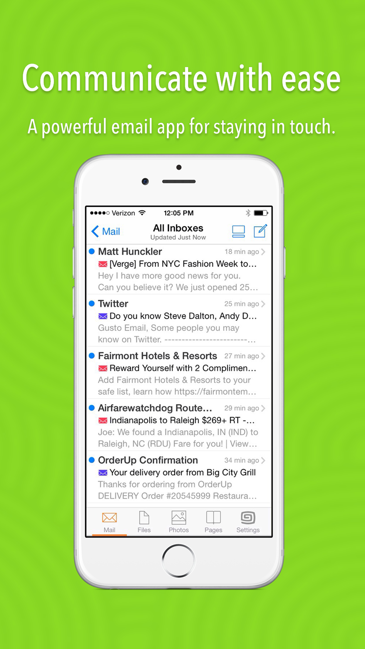 Gusto - Email, Files, Photos Simplified