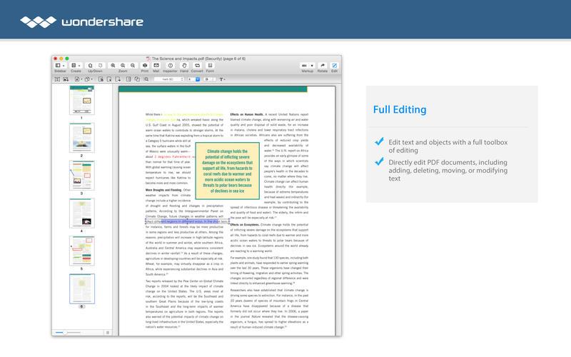 PDF Editor Pro for Mac