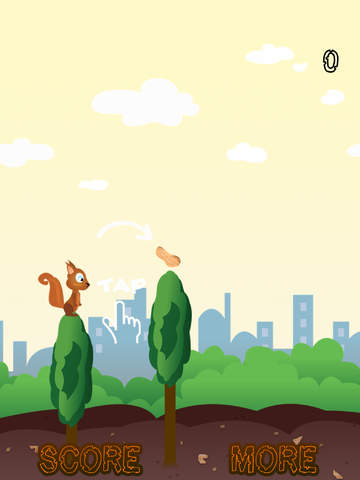 Skippy Skip - Make Them Squirrels Jump-ipad-0