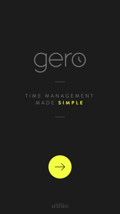 Gero Time Management Companion Screenshot