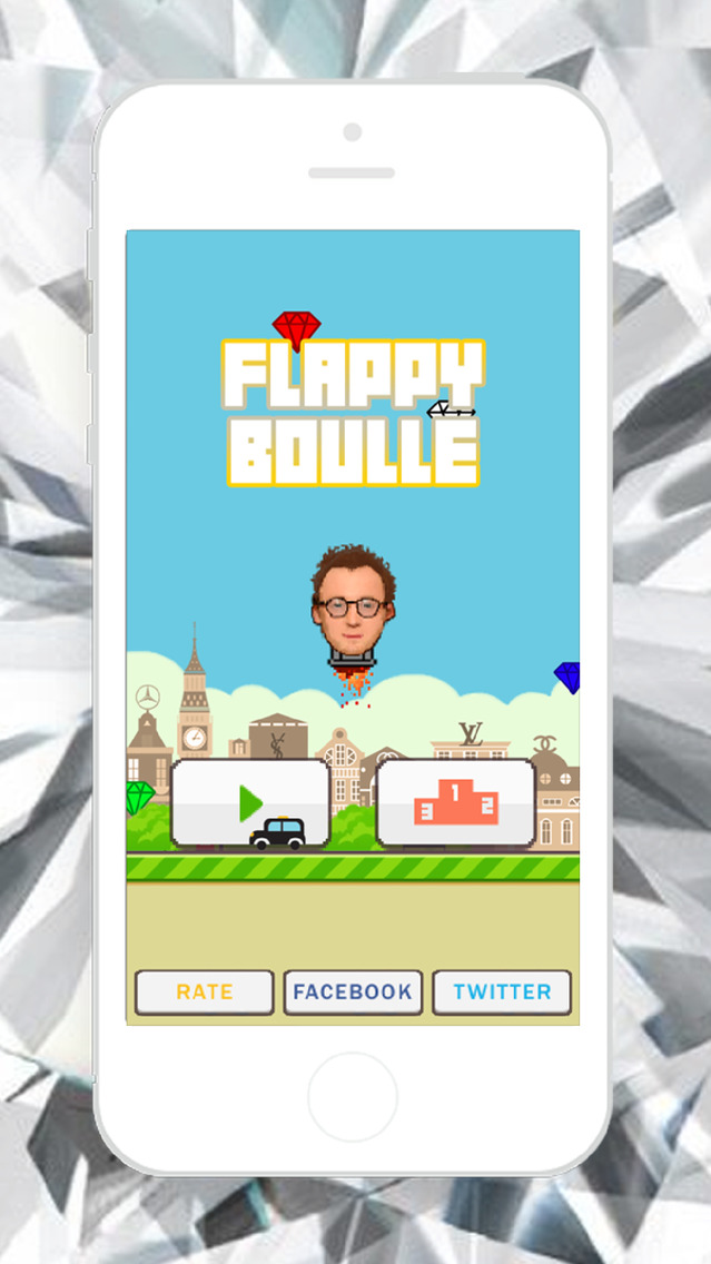 Flappy Boulle - The Ultimate London Adventure Screenshot on iOS