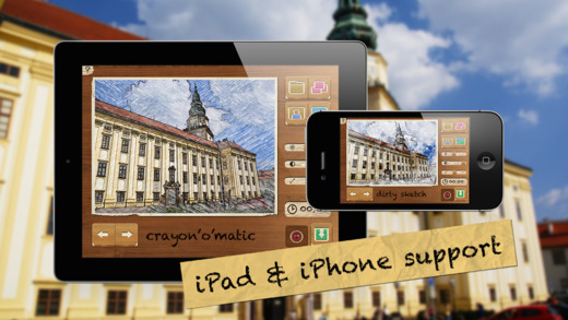 Pencil Camera HD Screenshot