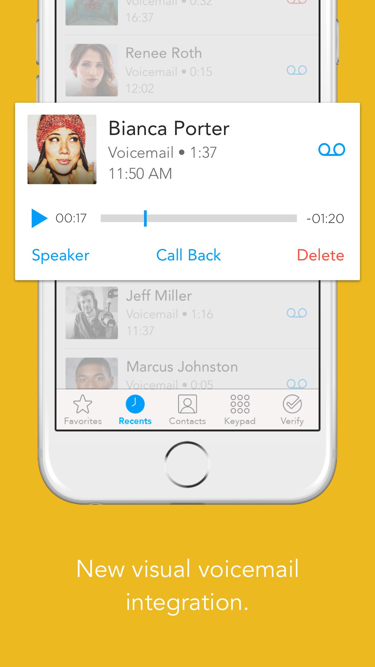 Humin - Phone and Contacts App screenshot-3