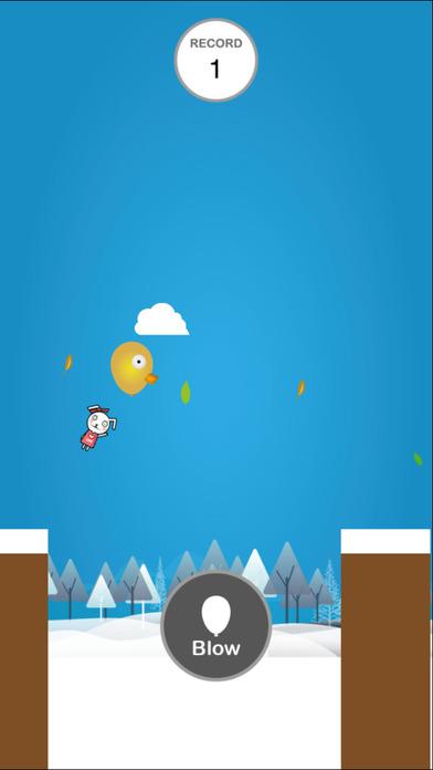 Bbbler Balloon Jump Screenshot on iOS