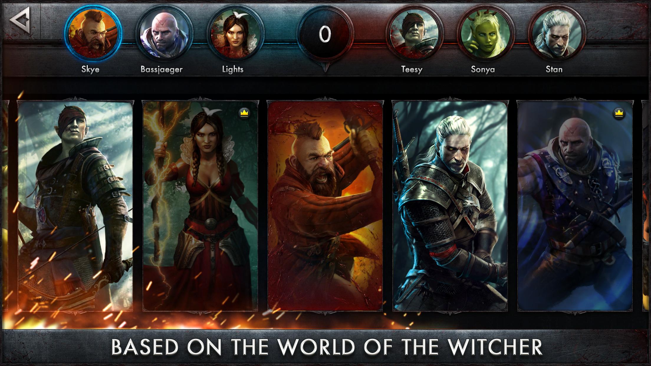 The Witcher Battle Arena screenshot-4