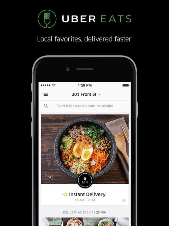 Uber Your Food Is On It S Way Ui