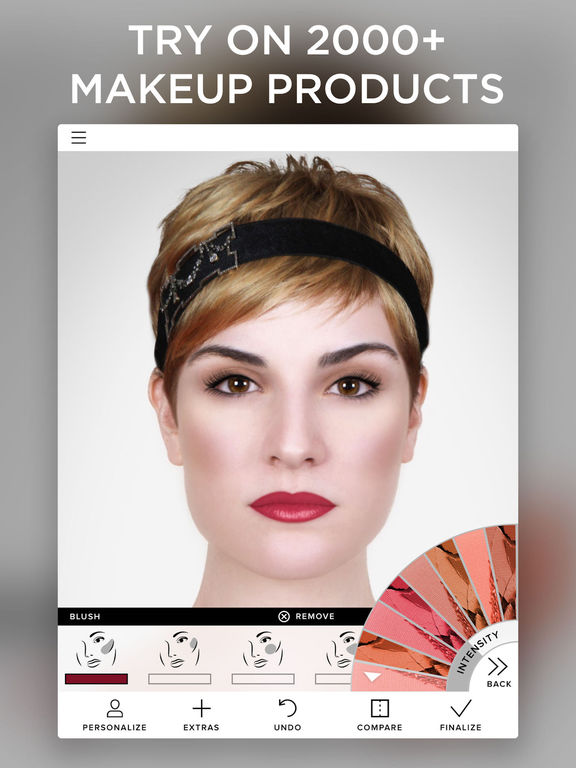 Incredible Virtual Makeover On The App Store Short Hairstyles Gunalazisus