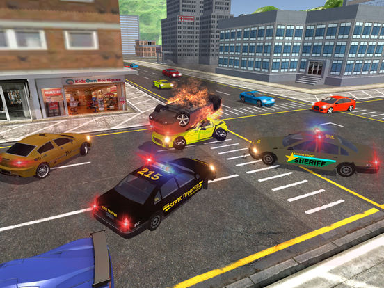 Car Chase Games: App Shopper: Speed Car Thief Police Chase (Games